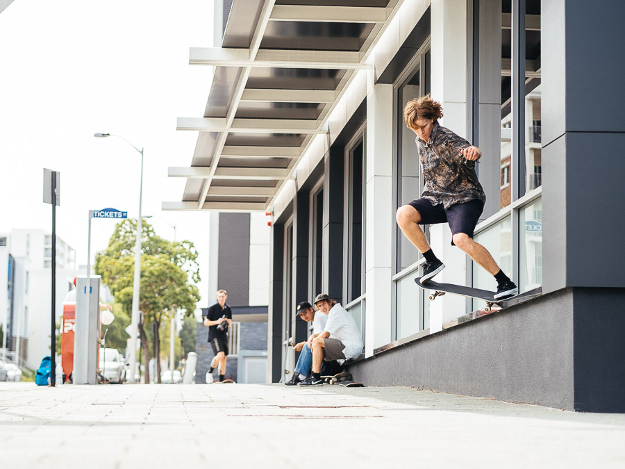 Justin Lloyd switch crook pop out